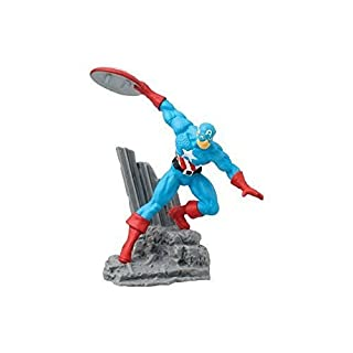 """Marvel Captain America Collectible Action Figure,Multi-colored,2"""""""