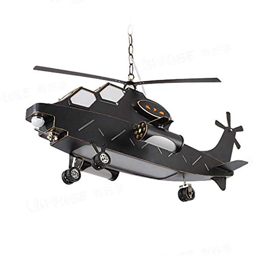 Helicopter Pendant Light in US - 7