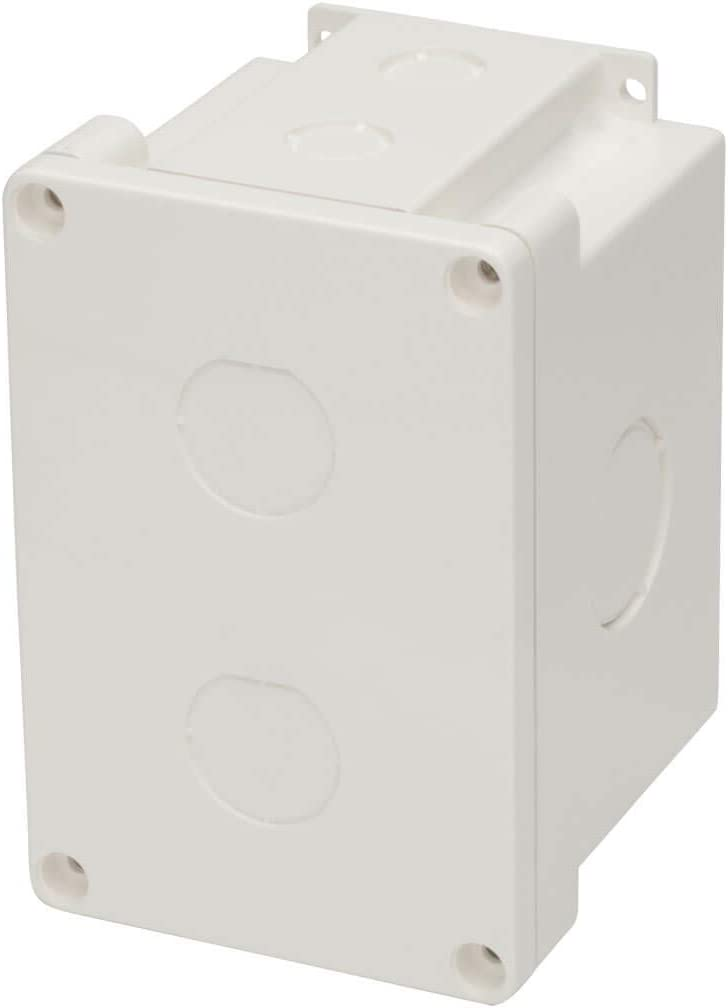 TRIPP LITE Waterproof CAT5E//Cat6 Electrical Junction Box 2 Cutouts TAA N206-SB01-IND