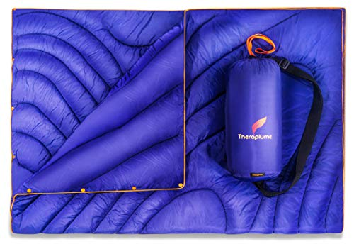 Theraplume Water Resistant Outdoor Blanket Button-On With Carry Bag