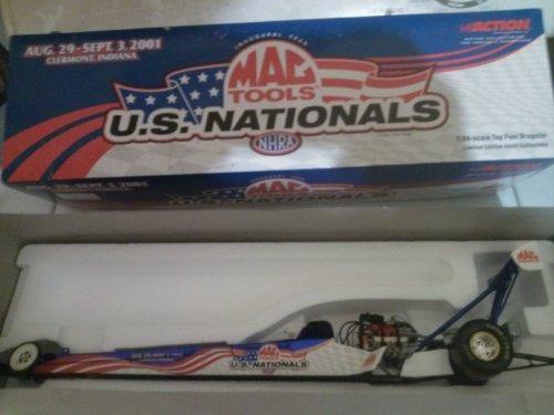 NHRA Mac Tools US Ntionals 2001 Dragster 1/5004 101938 Action 1:24 - Nhra Mac Tools