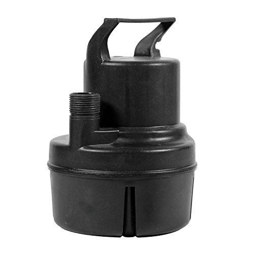 Direct Result U1-6HPUTH 1/6 hp Submersible Utility Pump