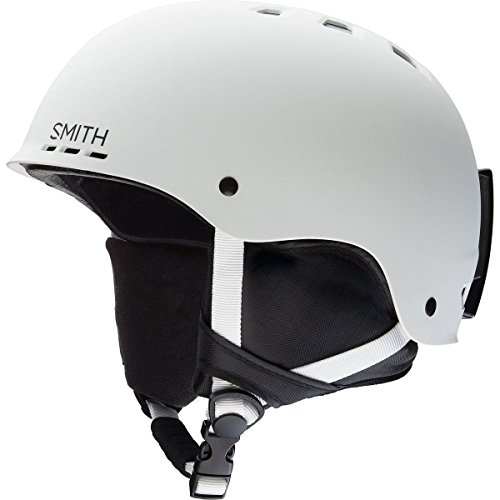 Smith Optics Unisex Adult Holt Snow Sports Helmet - Matte White XLarge (63-67CM)