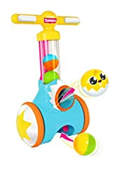 The Toomies Cannon Ball Pic & Pop is a distinct walk-behind toy that gets your toddler moving. One click of the button launches a colorful ball from the chute, your little one chases after the balls and simply rolls over them to magically...