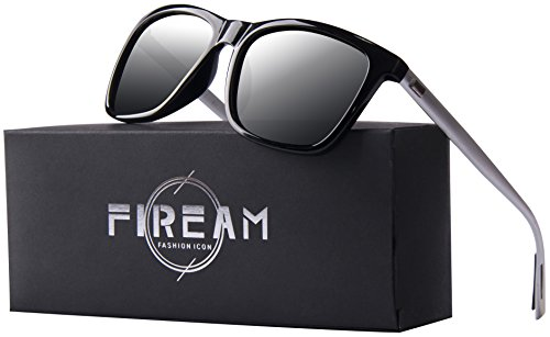 Mens Women Hot Classic Retro Driving Polarized Wayfarer 100% UV400 Protection Rectangle - Protection Sunglasses Wind