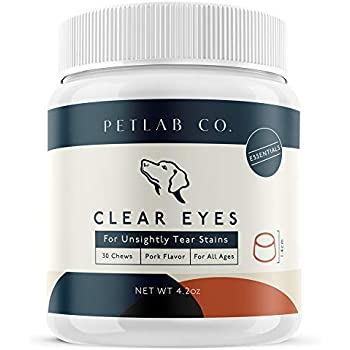 Amazon.com : Petlab Co. Clear Eyes Chews for Dogs | No