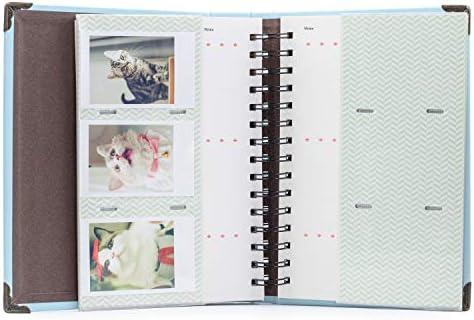 Amimy 120 Bolsillos álbum de Fotos para Fujifilm Instax Mini 7s 8 ...