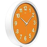 HITO Silent Wall Clock Non Ticking 12 inch