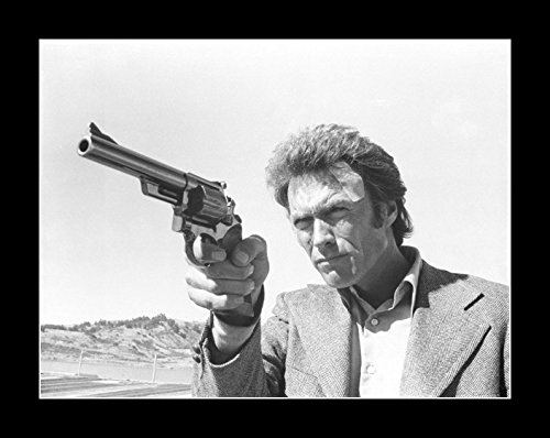 Eastwood Movie Photo - 8 x 10 All Wood Framed Photo Dirty Harry Clint Eastwood (3)