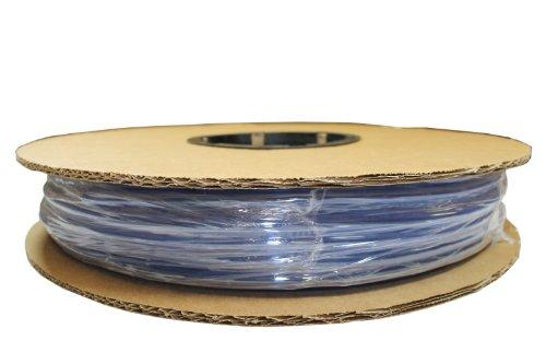 """ATP Surethane Polyurethane Plastic Tubing, Clear Blue, 5/32"""" ID x 1/4"""" OD, 100 feet Length"""