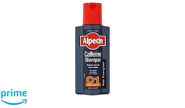 Alpecin C1 Cafeína Energizante Cabello Champú (250ml) (Paquete de 2): Amazon.es: Hogar