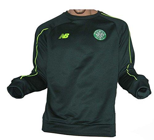 New Balance Celtic Glasgow FC Trainingstop Sweatshirt Midnight Pine (2XL)