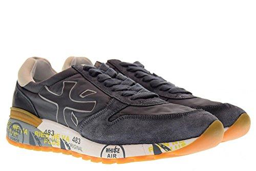 Premiata Sko Mænds Lave Sneakers Mick Grå 2819 eH1wPw6a