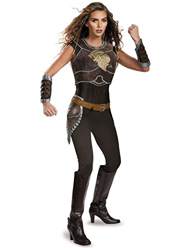 Disguise Women's Warcraft Garona Deluxe Costume, Multi, Medium