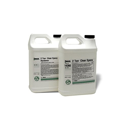 2 Ton Clear Epoxy - 10 minute work life waterproof 2ton clear by Devcon (Image #1)