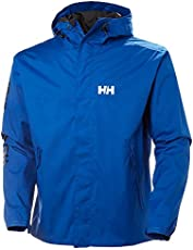 2f5514e00fa [Helly Hansen US] Helly Hansen Ervik Jacket Mens Rain Blue L