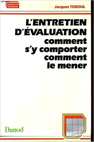 Lire L'entretien d'évaluation epub pdf
