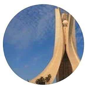 alfombrilla de ratón Martyr Memorial en Alger, Algeria - ronda - 20cm