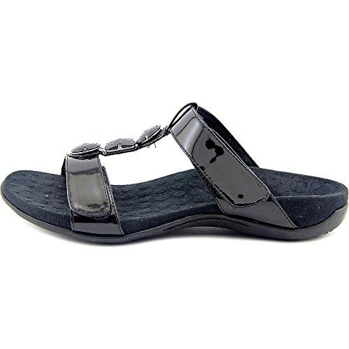 Orthaheel Albany Triple correa sandalias Negro