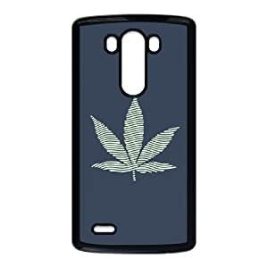 Exquisite stylish phone protection shell LG G3 Cell phone case for Marijuana Leaf Cannabis grass rasta pattern personality design