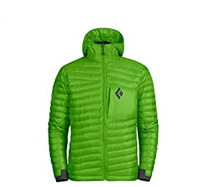 Black Diamond Hot Forge Hooded Down Jacket - Men's Vibrant Green, M