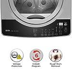 IFB 7 Kg 5 Star Fully-Automatic Top Loading Washing Machine (TL-RGS Aqua, Grey, 3D Wash technology,Triadic Pulsator,In…