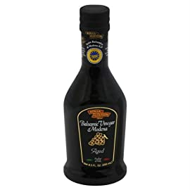 Monari Federzoni Ruby Quality Gold Lable Special Balsamic Vinegar, 8.5 Ounce - 6 per case. 36 Monari Federzoni Ruby Quality Gold Lable Special Balsamic Vinegar, 8.5 Ounce -- 6 per case. This Balsamic Vinegar of Modena PGI is aged at least 3 years in