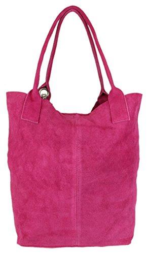 l'épaule Sac Handbags fuchsia femme pour à porter Girly à xTw5AUU0