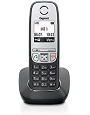 Gigaset A415 Telefon - Schnurlostelefon / Mobilteil mit Grafik Display - Dect-Telefon mit Freisprechfunktion - Analog Telefon - Schwarz