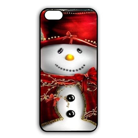 Nice Red Snowman iPhone 6 iPhone 6S - 4.7 Inch Thin Protective Case For Teen Girls