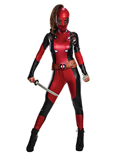 Secret Wishes Marvel Deadpool Women's Costume, As As Shown, Medium]()