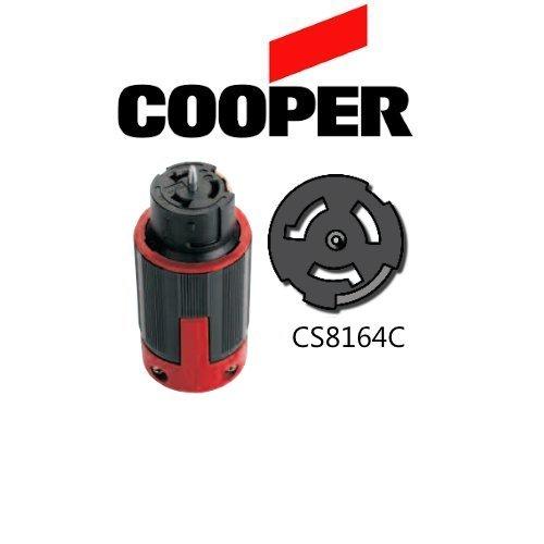 CS8164C 50A Locking Connector, 480V, 3P/4W - Cooper # CS8164EX