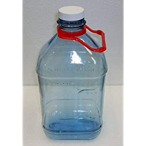 1/2 Gallon Water Bottle W/Red Handle