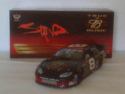 Dale Earnhardt Jr #8 Staind Budweiser True Music Edition 2003 Budweiser Monte Carlo 1/24 Scale Action Racing Collectables Hood, Trunk Opens (Action Racing Collectables Hood)