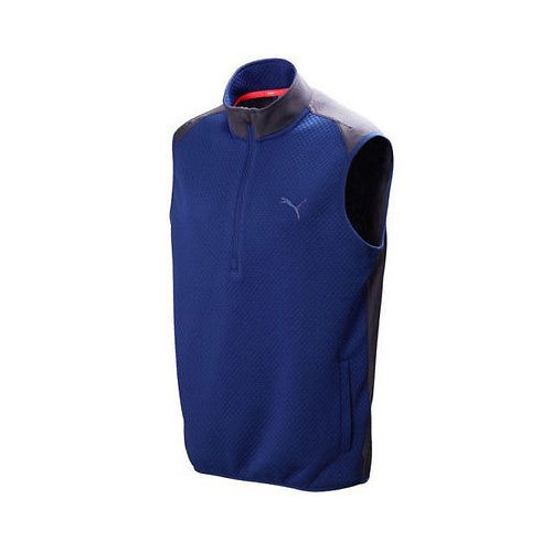 PWRWARM 1/4 ZIP VEST 57099701 SODALITE BLUE- -
