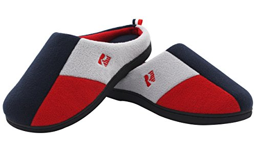 RockDove Womens Tri Color Slippers Blocking product image