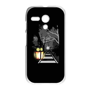 Motorola G Cell Phone Case White Midnight Train