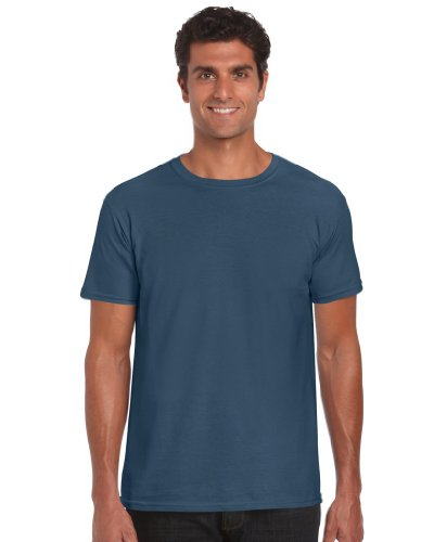 T-Shirt 'Ring Spun', Farbe:Indigo Blue;Größe:XL