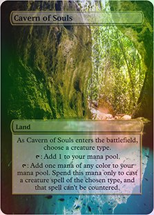 Cavern of Souls - Casual Play Only - Customs Altered Art Foil ()