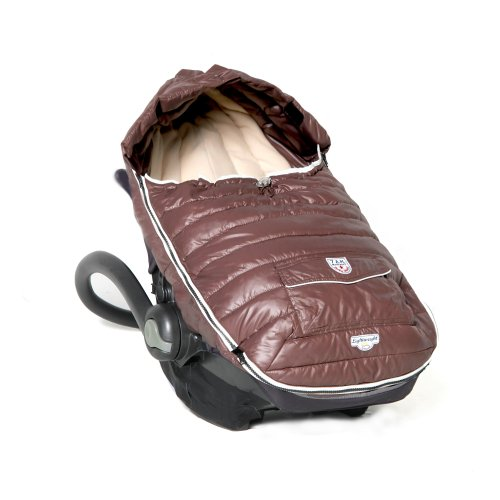 7AM Enfant Baby Shield Extendable Baby Bunting Bag Adaptable for Strollers, Marron Glace, Small by 7AM Enfant