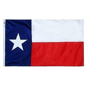 Bandera de Texas (tamaño)