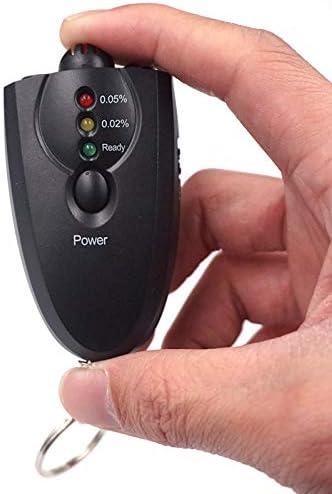 J/&J DEAOKE J/&J Etilometro Portatile Alcool Tester Portachiavi LED Digitale Batterie Schermo LCD Viaggiare sicuri