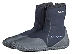 Multi-Purpose neoprene boot /shoe with puncture resistant sole, provides thermal protection and foot support for all your water activities. Available in 3mm - 5mm - 7mm.Tough, zip up uppers are glued and sewn to a high traction sole great for...