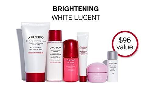 - Shiseido White Lucent Travel 6pc set w/pouch