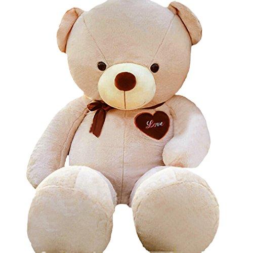 1.3 FT 16 Inches Small Light Brown Cute Teddy Bear Stuffed Animals Plush Toys Dolls