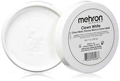 Dents De Vampire Halloween (Mehron Makeup Clown White Professional Makeup (7)