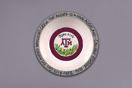 Collegiate Melamine Bowl (Texas A&M Aggies)