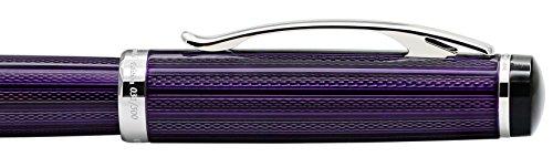 Xezo Diamond Cut Gel Ink Rollerball Pen (Incognito Purple R) by Xezo (Image #5)