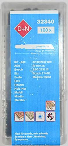 (100 Pack) T-Shank Jigsaw Blades 4