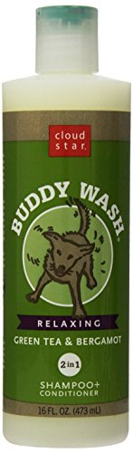 Cloud Star Buddy Wash Dog Shampoo- Green Tea And Bergamot, 16-Ounce Bottles (Pack Of 3) (Best Buddy Dog Wash)